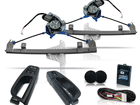 Kit Vidro Elétrico Sensorizado para Gol G5 G6 G7 Voyage Dianteiro