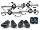 Kit Vidro Elétrico Sensorizado para Logan 2014/.. Sandero 2015/.. Completo