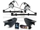 Kit Vidro Elétrico Sensorizado para Novo Fox 2010/.. Dianteiro