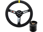 Volante Esportivo Lotse Maxx Competition + Cubo para Seat Ibiza 97/03