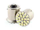 Lâmpada LED 1156 (P21W) Shocklight Ré 22 SMD 1206 12V 1 Polo