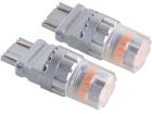 Lâmpada Mini LED Titanium T25 3157 23 SMD 12V 2 Polos Laranja - Shocklight