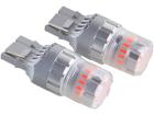 Lâmpada Mini LED Titanium T20 W21W 23 SMD 12V 1 Polo Vermelho - Shocklight