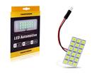 Lâmpada LED Placa 12 LED SMD 5050 12V Branca Tarponn