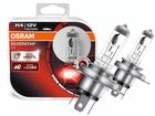 Lâmpada Osram SilverStar 2.0 H4 Amarela Par 3200K 60W/55W +60% Iluminação