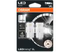Lâmpada Led Osram W21W T10 LEDriving 6000K - Par