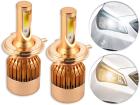 Lâmpada Super LED H3 – Duas Cores - Super Branca 6000K e Amarela 3000K 8000 Lúmens