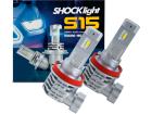 Par Lâmpada Led H11 H9 6000K 12V 40W 8400LM ShockLight Nano S15