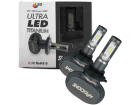 Lâmpada Ultra LED 9006 Hb4 Titanium 6000k 12v 50W 5000lm - Shocklight