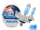 Lâmpada Philips H7 Super Branca Crystal Vision Ultra 4300K + Pingo