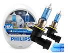 Lâmpada Crystal Vision Ultra HB4 9006 Super Philips Branca 4300K + Pingo