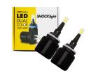 Lâmpada Super LED Dual Color H27 12v 25W 4000lm - Shocklight