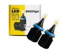 Lâmpada Super LED Dual Color H8 12v 25W 4000lm - Shocklight