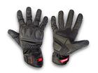 Luva Motociclista Texx Flash Touch Finger Preta P/S
