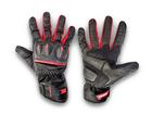 Luva Motociclista Texx Flash Touch Finger Vermelha M