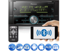 "Media Receiver Pioneer MVH-S618BT 2DIN 6.2"" Bluetooth USB Android Iphone 3 Saídas RCA Mixtrax MP3 Player Som Automotivo"