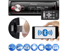 Media Receiver Pioneer MVH-X700BR 1DIN Flashing Light Bluetooth Aux USB Android Iphone 3 Saídas RCA Mixtrax MP3 Player