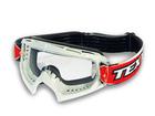 Óculos Motocross Texx FX-1 Pro Branco com Lente Cristal