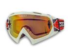 Óculos Motocross Texx FX-1 Pro Branco com Lente Iridium