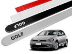 Jogo Friso Lateral Volkswagen Golf MK7 14/20 Ponta Redonda com Grafia - Tiger