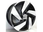 Roda Monacco Passione Aro 15x6 Réplica Golf GTI 4X100 ET36 Preto Diamantado