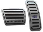 Pedaleira Corolla 20/.. Hybrid Automático Aço Inox - Não fura o pedal