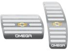 Pedaleira Omega 08/11 Automático Prata