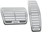 Pedaleira Onix Automático Prata
