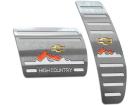 Pedaleira S10 Highcountry 17/.. CD Automático Prata