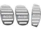 Pedaleira Mobi Manual Prata