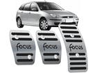 Pedaleira Focus 2000/2008 Manual em Aço Inox - Listrado Preto