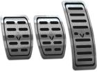 Pedaleira Sandero 20/.. Manual Aço Inox - Não fura o pedal