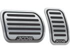 Pedaleira Peugeot 3008 18/.. Automático Preto
