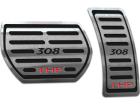 Pedaleira Peugeot 308 THP Automático Preto