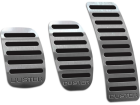 Pedaleira Duster 11/20 Manual Preto Aço Inox - Não fura o pedal