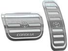 Pedaleira Corolla 03/14 Automático Prata