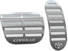Pedaleira Corolla 15/.. Automático Prata