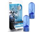 Lâmpada Blue Vision Ultra W5W T10 Pingo Super Branca 3400K Par 12V Luz de Sinalização e Iluminação Interna