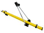 Rack de Teto para Bicicleta Amarelo Transbike Projecar