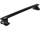 Rack de Teto Thule WingBar Evo para Nissan March - Kit Completo com Barra Preta, Base e Fixador