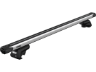 Rack Travessa de Teto Thule SlideBar para Mercedes C200 W204 Touring - Kit Completo com Barra e Base