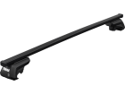 Rack Travessa de Teto Thule SquareBar para Fiat Palio Weekend - Kit Completo com Barra e Base