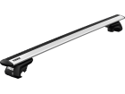 Rack Travessa de Teto Thule WingBar Evo para Fiat Palio Weekend - Kit Completo com Barra Prata e Base