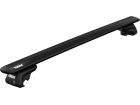 Rack Travessa de Teto Thule WingBar Evo para Mini Countryman 17/.. - Kit Completo com Barra Preta e Base