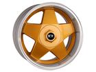 Roda KR K56 Aro 15x7 5x100/5x112 Dourado Diamante ET32