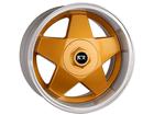 Roda KR K56 Aro 17x7 4x100/4X108 Dourado Diamond ET38