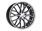 Roda KR R54 Réplica BMW 335 Biturbo Aro 18x7 5x108 Grafite Diamante ET40