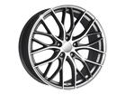 Roda KR R54 Réplica BMW 335 Biturbo Aro 18x7 5x112 Grafite Diamante ET40