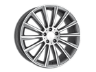 Roda KR R66 Réplica Mercedes AMG C63 Aro 20x7,5 4x100 Grafite Diamante ET40