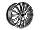 Roda KR R66 Réplica Mercedes AMG C63 Aro 15x6 4x108 Preto Brilho ET36
